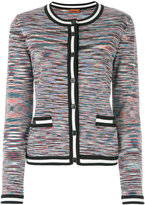 Missoni striped trim cardigan
