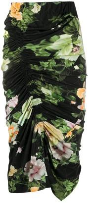 Preen by Thornton Bregazzi Xenie ruched skirt