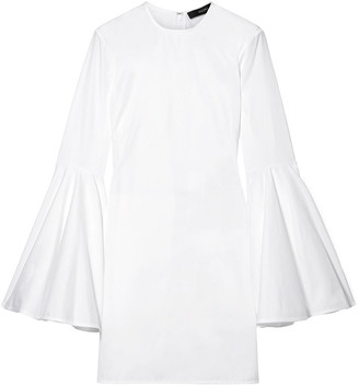 Ellery Dogma Cotton-poplin Mini Dress