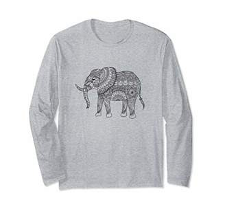 Elephant Yoga Womens Long Sleeve