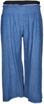 Enza Costa Smocked Trousers