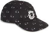 Kenzo Black Eye-print Cap