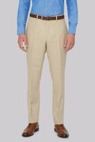 Hardy Amies Stone Linen Pants
