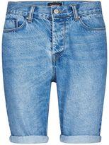 Antioch Light Wash Slim Fit Denim Shorts*