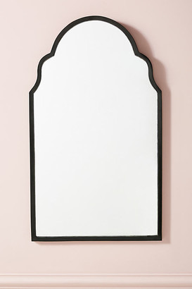 Anthropologie Adelaide Mirror By in Black Size L