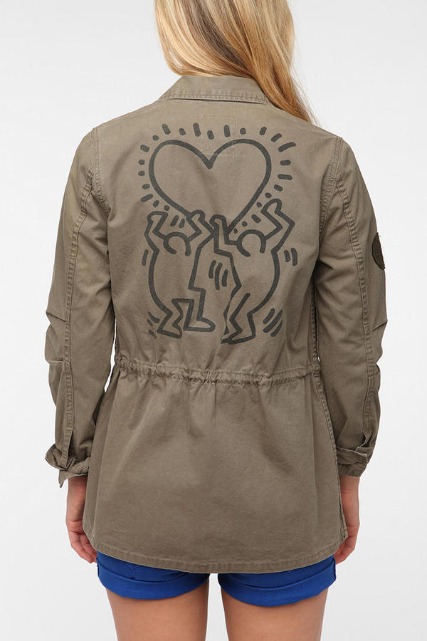 Urban Outfitters OBEY Keith Haring Jacket