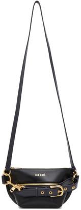 Sacai Black Trapezoid Wallet Bag