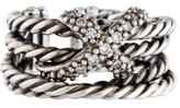 David Yurman Diamond X Crossover Band