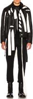 Craig Green Leather Stitch Biker Jacket