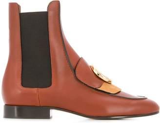 Chloé C flat chelsea boots