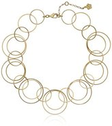 "Trina Turk Mod Moments"" Gold Necklace, 17"" + 2.5"" Extender"