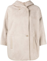 Loro Piana shearling hooded coat - women - Lamb Skin/Sheep Skin/Shearling - M