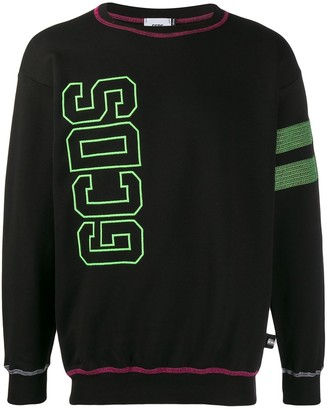 GCDS Embroidered Logo Sweatshirt