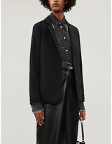 Ted Baker Sabryna slim-fit crepe blazer