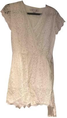 Diane von Furstenberg White Synthetic Jumpsuits
