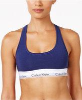 Calvin Klein Modern Cotton Low-Impact Logo Bralette F3785