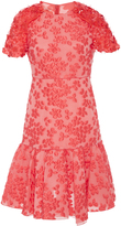 Giambattista Valli Floral Embroidered Mini Dress