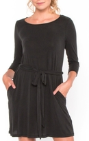Everly Black Longsleeve Dress