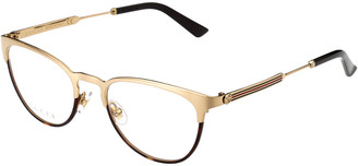 Gucci Women's Gg0134o-30001529002 52Mm Optical Frames