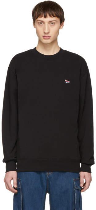 MAISON KITSUNÉ SSENSE Exclusive Black Fox Sweatshirt