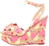 Charlotte Olympia Miranda Wedge Sandals