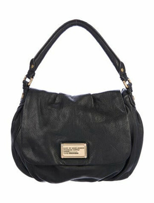 Marc by Marc Jacobs Textured Leather Crossbody Black