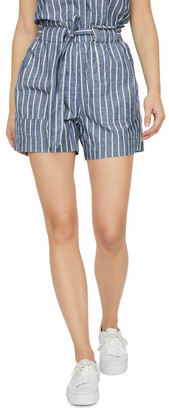 Vero Moda Emily Chambray Shorts Mid