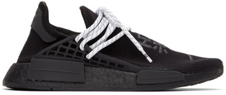 adidas Originals x Pharrell Williams Black HU NMD Low-Top Sneakers
