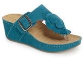 David Tate Women's Spring Platform Wedge Sandal