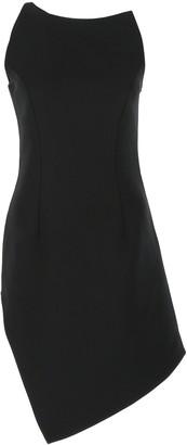 Coperni Motion Asymmetric One-Shoulder Mini Dress