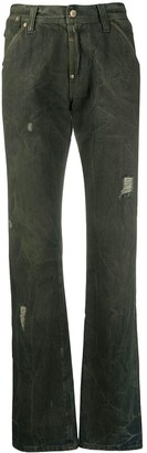 Gianfranco Ferré Pre Owned 1990s Ferre straight-leg jeans