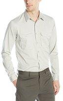 Theory Men's Dawsey B Erke Long Sleeve Button Down Shirt