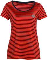 Scotch & Soda STRIPES Print Tshirt red