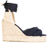 Castaner denim espadrilles - women - Cotton/Straw/Canvas/rubber - 36