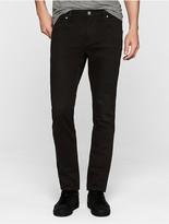 Calvin Klein Sculpted Black Wash Slim Jeans
