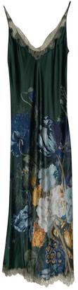 Carine Gilson Green Silk Dresses