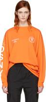 Heron Preston Orange DSNY Edition Long Sleeve 'Uniform' T-Shirt