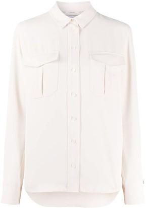 Calvin Klein Long Sleeve Flap Pockets Shirt