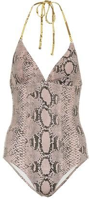 Stella McCartney Snake printed swimsuit