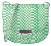 Celine Trotteur Small Snake-embossed Shoulder Bag.