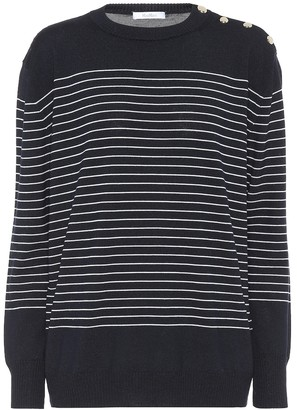Max Mara Navona striped wool sweater