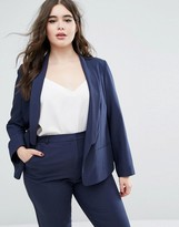 Asos Blazer in Crepe with Slim Lapel
