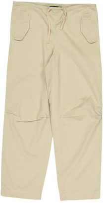 DKNY Beige Cotton Trousers