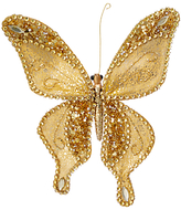 John Lewis Into the Woods Golden Butterfly Clip On Tree Decoration