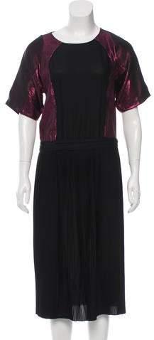 Gucci Pleated Silk Dress