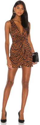 Marissa Webb Jones Heavy Canvas Print Dress