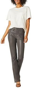 Hudson Bootcut Jeans in High Shine Dark Slate