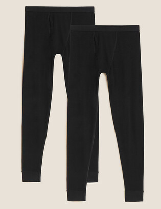 Marks and Spencer 2 Pack Light Warmth Thermal Long Johns