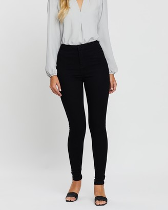 Dorothy Perkins Lyla High-Waisted Ultra Skinny Jeans