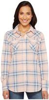 Roper 1141 Creamsickle Plaid Western Shirt
